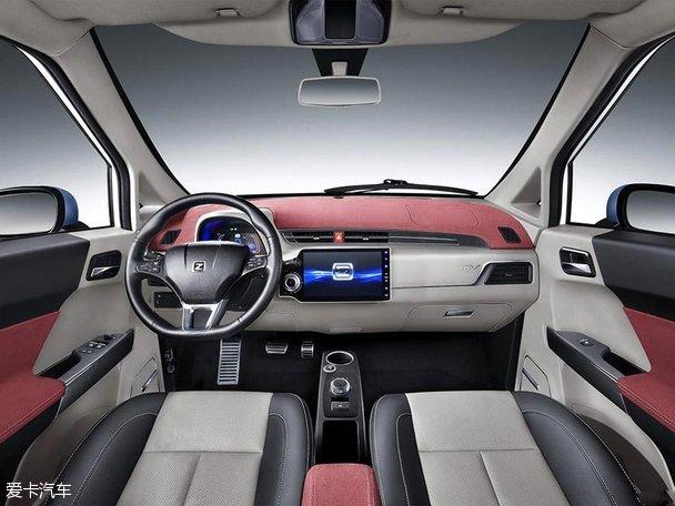 众泰E200内饰官图发布 将于明年内上市